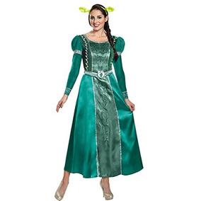 Fiona Traje Adulto De Lujo De Las Mujeres Disfraz, Verde, X
