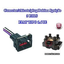 Conector/chicote/plug Bobina Ignição 3 Fios Fiat Tipo 1.6 Ie