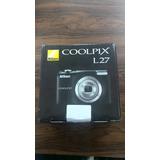 Camara Nikon 16.1 Megapixels+cargador+baterias Recargables