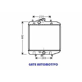 Radiador Daihatsu Charade 93-98 Aut/mec Gasolina