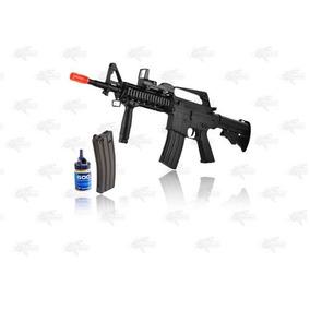 Marcadora Airsoft Spring M16 M4 Mira Reflex Bbs 6mm Xtreme