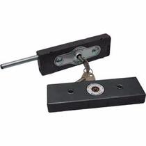 Fechadura Trava Porta Enrolar Lateral Tetra Chapa Aco 1 Par