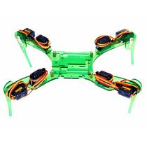 Araña Robotica De 4 Patas Con Case Arduino Uno