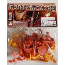 Forte Apache Acampamento De Índios Gulliver 10 Figuras