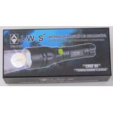 Lanterna Mergulho À Prova Dágua Led Cree Jws718 Recarregável