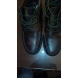 Zapatos Botas De Cuero Engrasado,suela De Goma Cosida