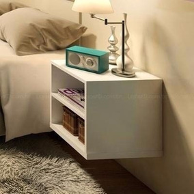 Mesa De Noche Flotante Diseño Moderno Dormitorio Decoracion