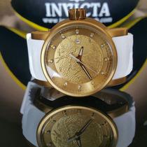Relógio Invicta Yakuza Branco Dani Russo Melhor Do Baile