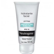Hidratante Facial Neutrogena Oil Free Fps 15 50ml