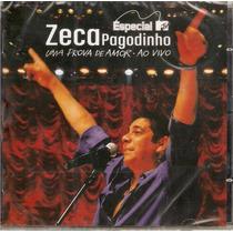 Cd Zeca Pagodinho - Uma Prova De Amor Ao Vivo - Novo***