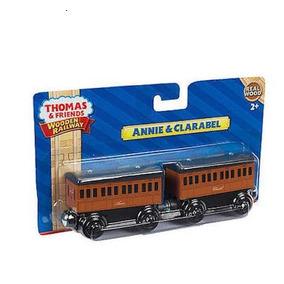 Thomas Y Sus Amigos Madera Annie Clarabel Wooden Railway