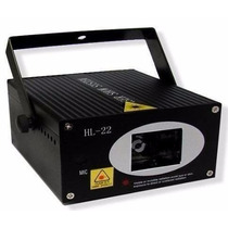 Laser Raio Projetor Holográfico Verde Vermelho 250mw Hl-22