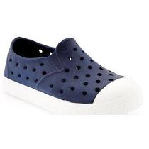 Zapato De Plastico Old Navy, Ligero Para Niño #205950 Marino