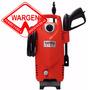 Hidrolavadora Gamma Red Line 127 90 Bar 1200 W Con Autostop