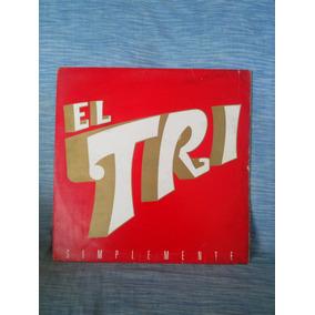 Album Acetato Vinilo Lp El Tri Alex Lora Simplemente