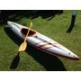Kayak Sdk Para Aguas Rapidas + Pala De Madera Original