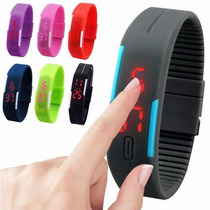 Lote 50 Reloj Touch Led Unises, Moda Colores Deporte