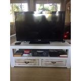 Mesa Ideal Para Tv, Rustica De Madera. Liquido Oportunidad!