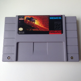 Fita Top Gear 2 Original - Super Nintendo - Snes