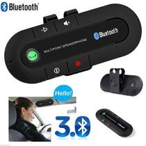Manos Libres Bluetooth Con Altavoz Para Auto Fm