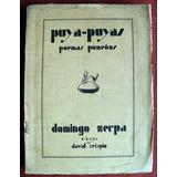 Zerpa, Domingo: Puya-puyas. Poemas Puneños. Ilst. D. Crispin