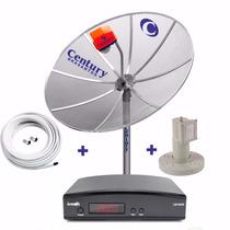 Antena Parabolica Multiponto Receptor Analógico Digital Sd