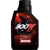 Aceite Motul 300v 5w40 Moto 1l Sintético Envio Todo Pais