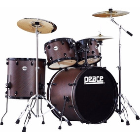 Bateria De 5 Cuerpos Peace Dp-210 Adonis Antique Brown