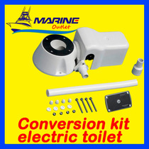 Kit Conversor Para Vaso Sanitário Nautico Manual Em Eletrico