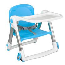 Cadeira De Alimentação Para Bebê Portátil Azul - Clingo