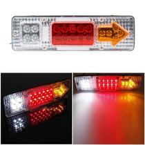 Lanterna Led Traseira Caminhão Carretinha Universal 12v Par
