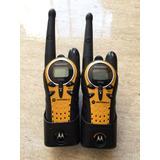 Radios Motorola T7400 Memorias Baterías Aaa Exelents