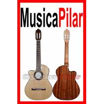 Electro Guitarra Criolla Eq Fonseca Zurda 41kec Musica Pilar