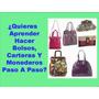 30 Revistas De Bolsos Paso A Paso Con Patrones + Regalo