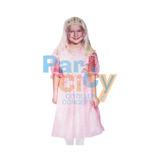 Vestido Princesa Super Económico Nenas Fiesta Cumpleaños