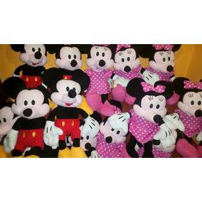 Peluche Minnie Y Mickey Grandes 68 Cms. Hermosos Solo $ 900
