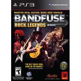 Box Bandfuse Rock Legends Para Playstation 3 Jogo + Cabo