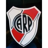 Escudos Futbol Logotipos Madera(mdf) Artesanales Con Relieve