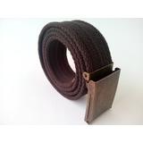 Cinto / Cinturon Marinero Hebilla Palanca Algodon 4 Cm Ancho
