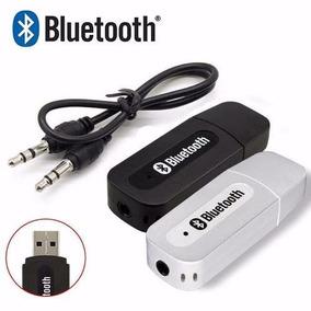 Receptor Bluetooth Adaptador P2 Audio Usb Carro Frete Grátis