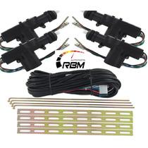 Kit Trava Elétrica Universal 4 Portas - Dupla Serventia