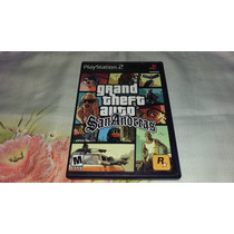 Gta San Andreas Original Completo Americano Ps2