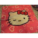 Funda Para Almohadon Hello Kitty Diseño Exclusivo