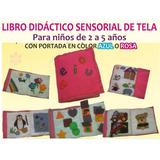 Libro Didáctico De Tela Para Niños De 1 A 5 Años