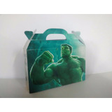 Hulk - Cajita Golosinera (pack X40 Valijitas)