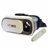 Óculos Realidade Virtual + Controle + 100 Jogos + Cabo Pc