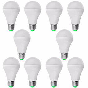 Lampada Led Bulbo Branco Frio 5w Rosca E27 Bivolt - 10 Pçs