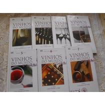 Vinhos Do Mundo Adega Veja Kit C/ 7 Volumes Barato Compre Já