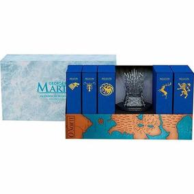 Box Game Of Thrones 5 Livros Ed De Luxo + Trono Frete Grátis