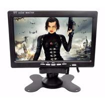 Tela Lcd 7 Polegadas Monitor Portátil Veicular Carr Colorido